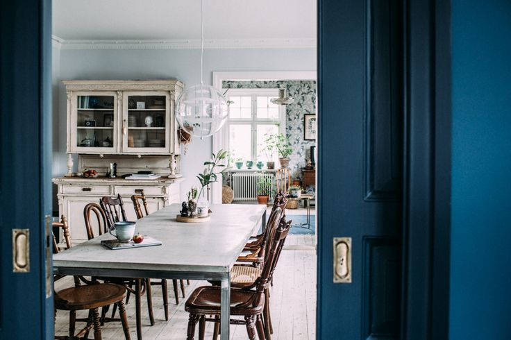 Kristin Lagerqvist's home, Elle Decoration, Krickelin blog, via http://www.scandinavianlovesong.com/