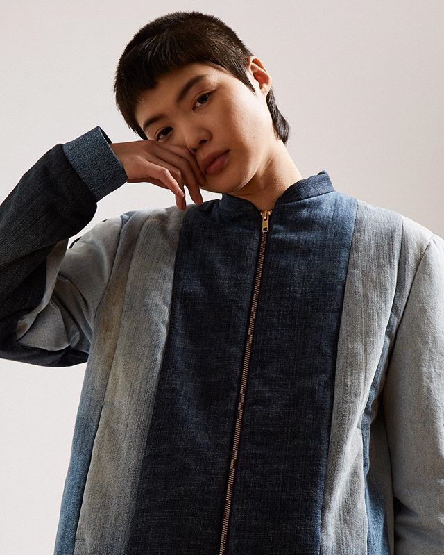 thelncc: Aware of the issues of sustainability and overproduction, Schmidttakahashi create an eclectic clothing line that breaks down components of existing clothes to produce unique one-off pieces with a Japanese aesthetic - shop the collection online now at #LNCC @schmidttakahashi