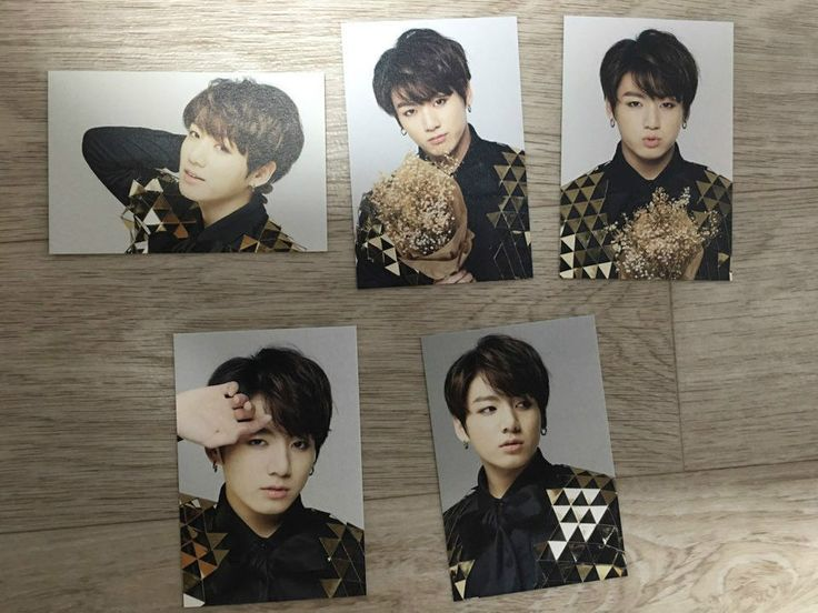 K Pop Star BTS Official Hyyh on Stage Epilogue Mini Photo Card Jungkook   eBay