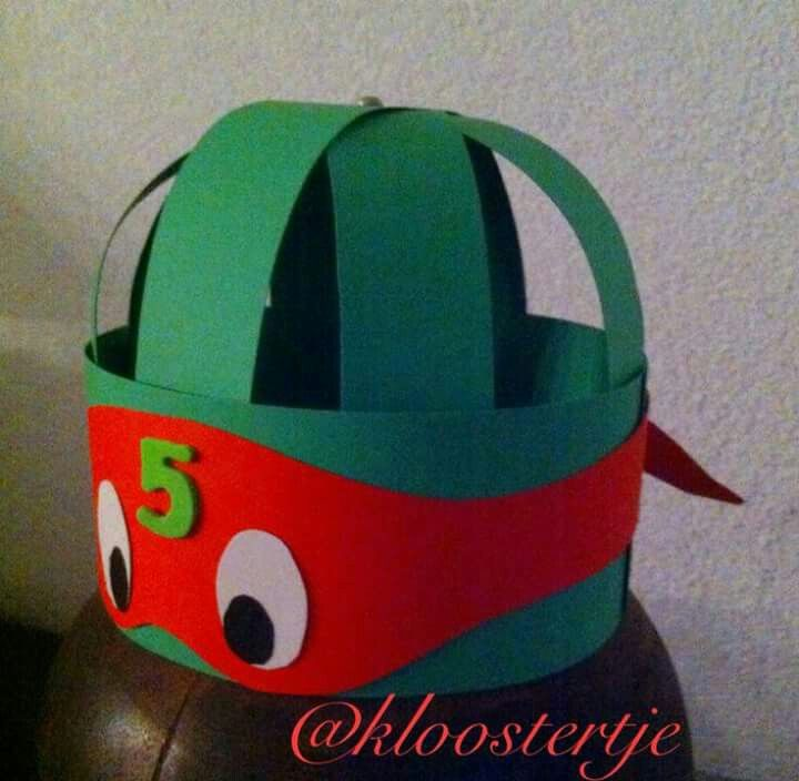 Ninja turtle hoed