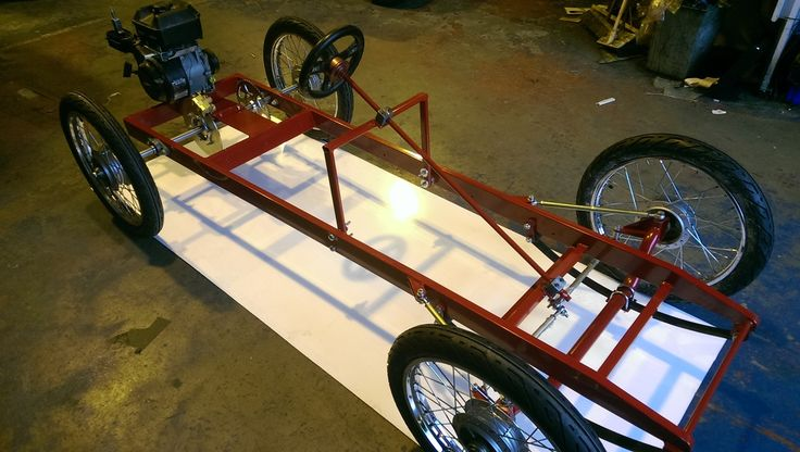 Goodwood Chassis Overall Length Chassis Only Width Front