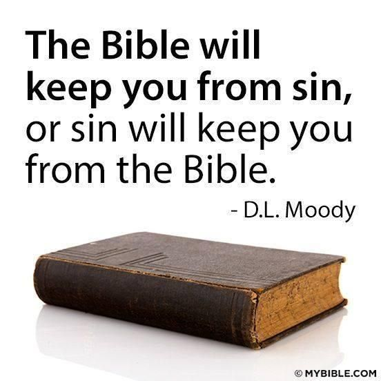 So Very True! Heavenly Father  Please Help Me Be in Your Word Daily So I'm Able to Turn Away From Sin in Jesus Name I Pray Amen. :-)