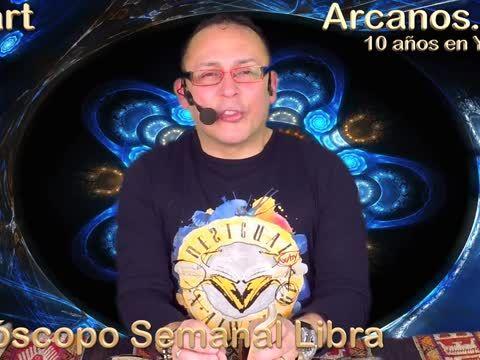 """LIBRA MARZO 2018-10-4 al 10 Mar 2018-Amor Solteros Parejas Dinero Trabajo-ARCANOS.COM<br><br>El Mejor video horóscopo semanal.<br><br>Lectura del Tarot en Español a nivel mundial.<br><br>En un mundo dominado por la incertidumbre...NOSOTROS TENEMOS LA RESPUESTA.<br><a href=""""http://www.Arcanos.com"""" rel=nofollow target=_blank>http://www.Arcanos.com</a><br><br>Horóscopo de Hoy: <a href=""""http://www.arcanos.com/horoscopo-de-hoy-horoscopo-del-dia.asp"""" rel=nofollow…"""