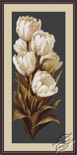 Tulips - Cross Stitch Kits by Luca-S - B292