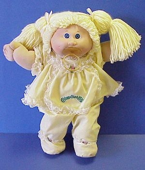 This was my Cabbage Patch Doll