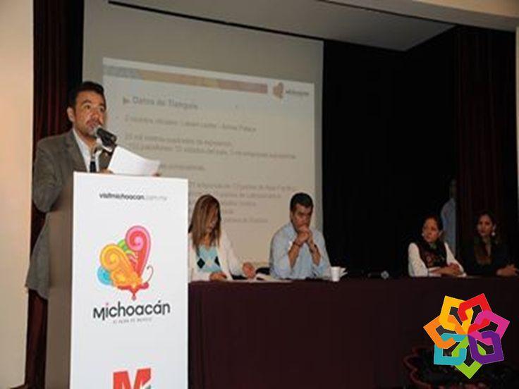 RECORRIENDO MICHOACÁN. Roberto Monroy, Secretario de Turismo del Estado, destacó que Michoacán superó sus expectativas al pasar de 440 reuniones de negocios en el Tianguis del año anterior, a 502 en esta edición. En concreto se reafirmaron lazos de negocios con empresas Tour Operadoras Mayoristas, que representa cientos de ventanillas de venta directa a través de agencias de viajes. Las Tour Operadoras elegidas para firmar sociedad con Michoacán destacan además por sus altas ventas en…
