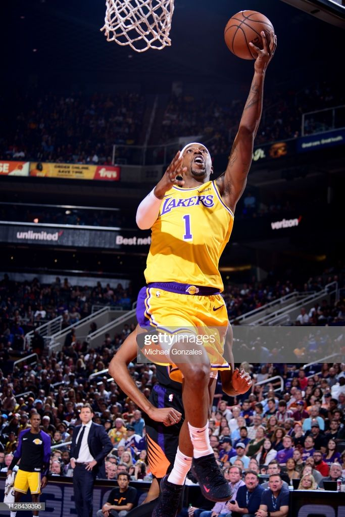 Kentavious Caldwell Pope Of The Los Angeles Lakers Shoots The Ball Los Angeles Lakers Lakers Talking Stick Resort Arena