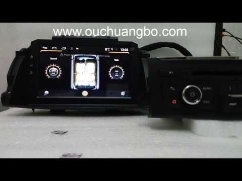 Ouchangbo car dvd gps radio fit for Renault Koleos 2014 2015 clio 3 andr...