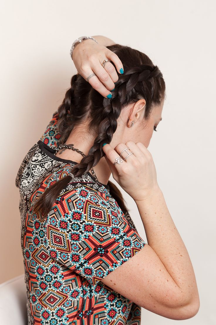 These simple boxer braids are so on trend right no…
