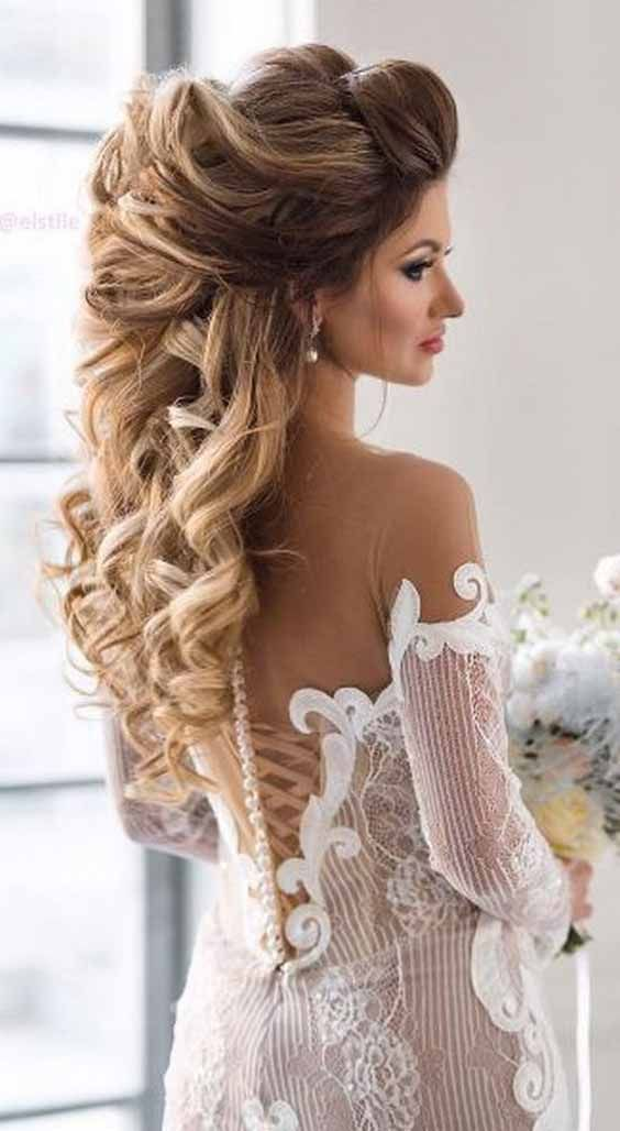 5 Long Wedding Hairstyles And Haircuts Make Your Wedding More And