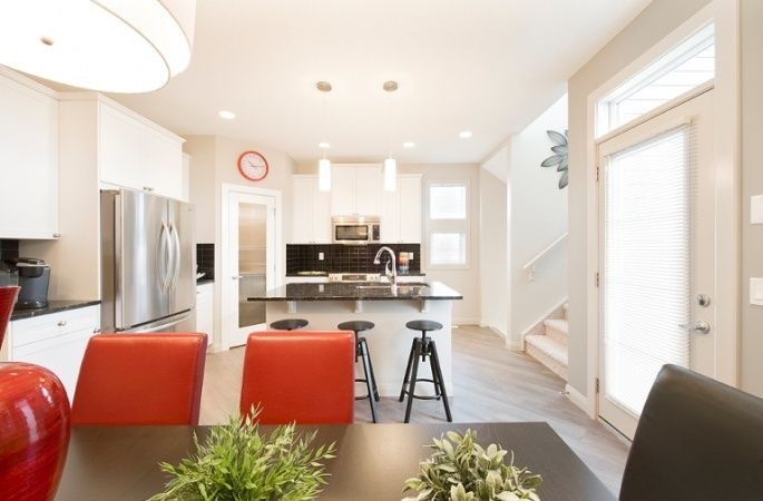 Aberdeen II in Redstone by Broadview Homes. Click here for more #decorating & #decor ideas: http://www.broadviewhomes.com/calgary/photo-gallery #kitchen