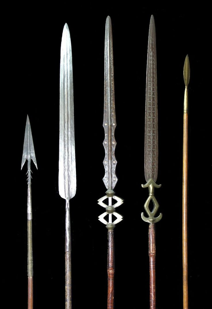 Cameron spears.jpg - African spears - African Weapons
