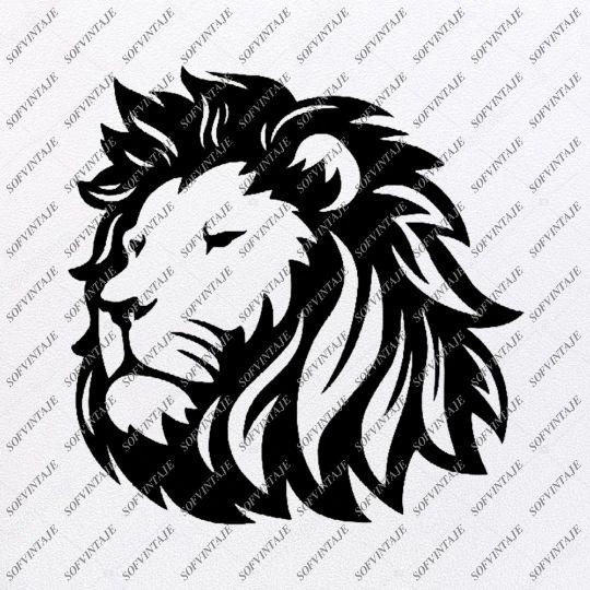 Download Lion Svg File - Lion Svg Design - Lion Clipart - Animals ...