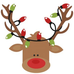 Clip Art Cute Christmas Clipart 1000 ideas about christmas clipart on pinterest reindeer with lights svg cutting files for scrapbooking cute cut files