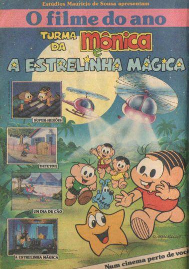 A Turma da Mônica e a Estrelinha Mágica (1989).