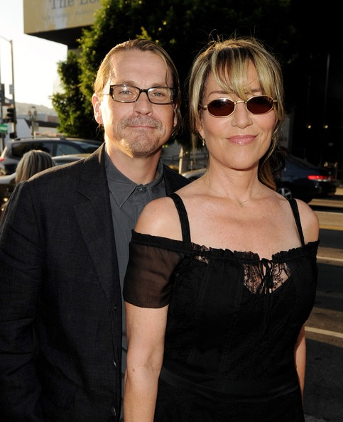 Sons of Anarchy's creator/executive producer Kurt Sutter with his wife Katey Sagal.
