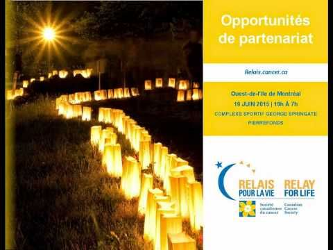 Sponsorship Opportunities with the June 19 2015 West Island Relay for Life