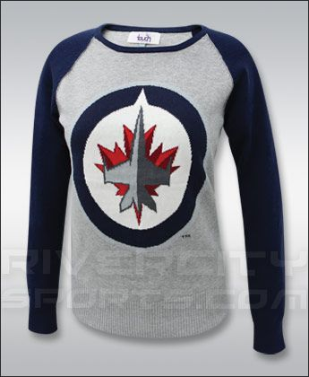 Winnipeg Jets TOUCH LADIES FAN 4 LIFE SWEATER Clothing - NHL Apparel, Jerseys, Souvenirs - River City Sports