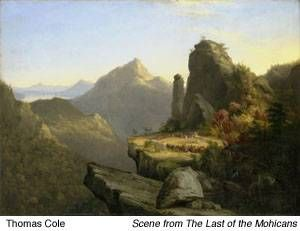Thomas Cole - Hudson River School  #art #artist