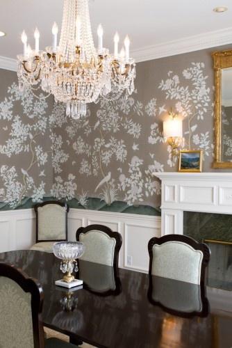 Best 25 Dining Room Wallpaper Ideas On Pinterest Wall