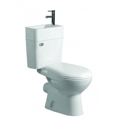 Eco Under Stairs Cloakroom Space Sink And Toilet Combo