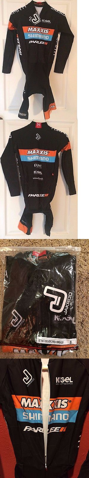 Other Cycling Clothing 177857: Jakroo Maxxis Shimano Parlee Cyclocross Team Long Sleeve Thermal Skinsuit Small -> BUY IT NOW ONLY: $75 on eBay!