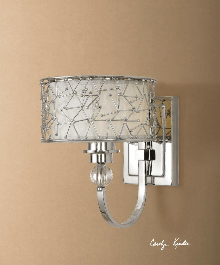 Bathroom vanity sconce.