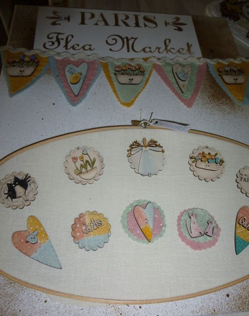 theodora cleave: Brooches & Buttons Display Board
