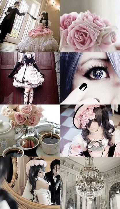 """NÃO É perfeito demais. Oh meu Deus .. gracioso este Cosplay de Kuroshitsuji ou """"Black Butler"""" é tão perfeito que traz uma lágrima aos meus olhos. GRANDE TRABALHO!"""