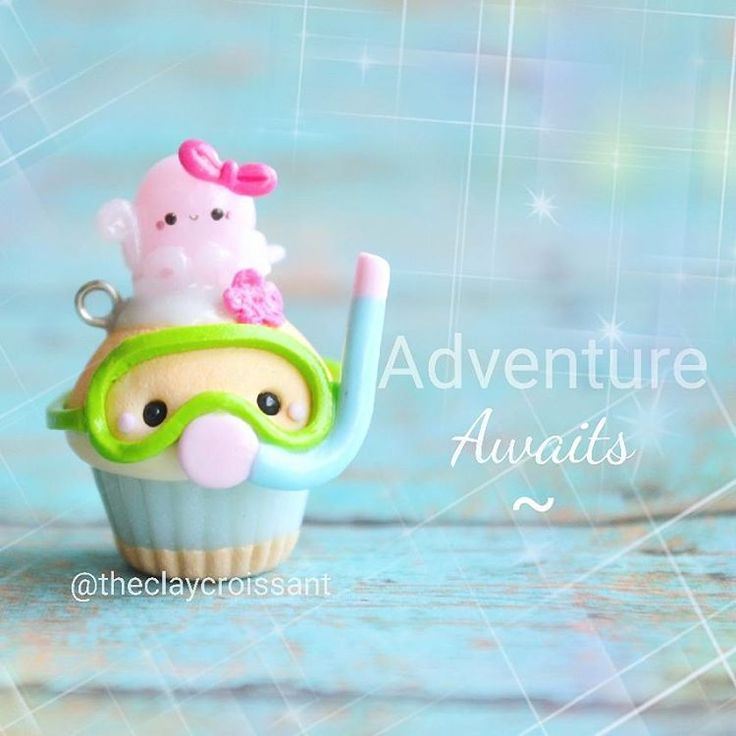 UGH! There are so many new things that I want to show y'all!! The weather hasn't been cooperating lately and I haven't been able to take decent photos. :( So! Here is a little Snorkel cupcake. xD I am bringing these guys back for this restock! So if you missed out on him several months ago, he will be available in my store very shortly. :) I'll have a post announcing the restock date as soon as I have a date picked out. ❤ #polymerclay #polymerclaycharms #claycharms #clay #charms #jewelry ...