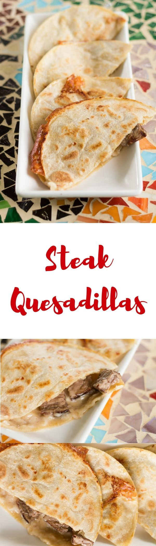 If you've never used corn tortillas to make steak quesadillas, you're in for a treat! This steak quesadilla recipe is super easy and so delicious. #AuthenticSalsaStyle #ad /HerdezBrand/ /walmart/
