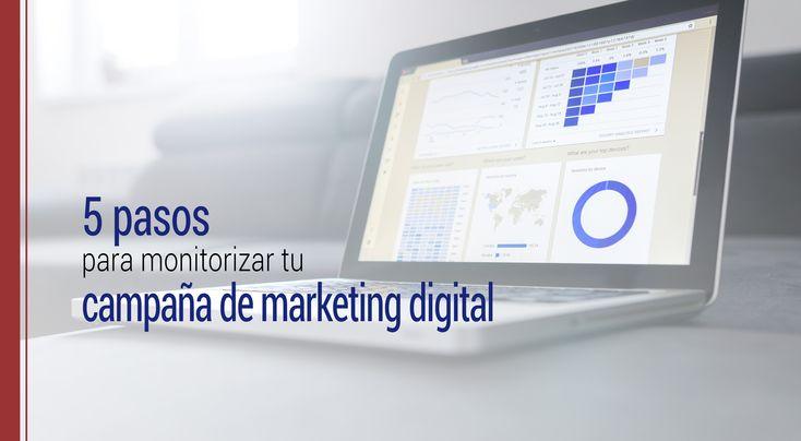 Siguiendo estos 5 pasos lograrás definir una estrategia clara para monitorizar tu campañas de Marketing Digital y lograr que ésta sean todo un éxito.