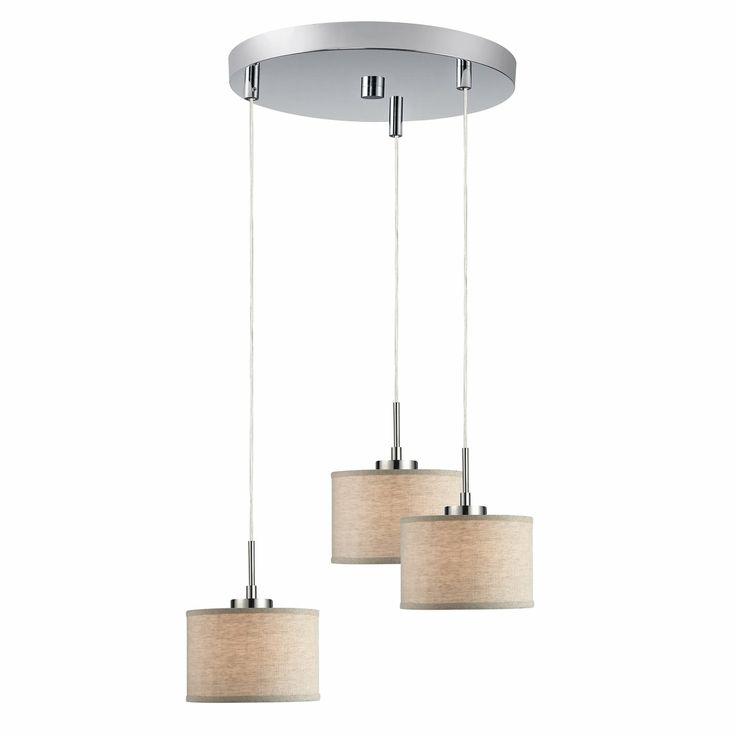 Woodbridge Lighting 13324 3 Light Multi Pendant At ATG Stores