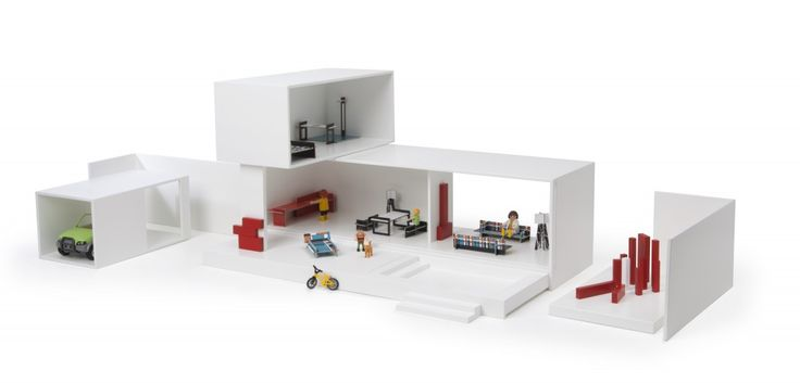 MINIARCHY CONTEMPORARY TOY HOUSES {little architect} - Cute Kids
