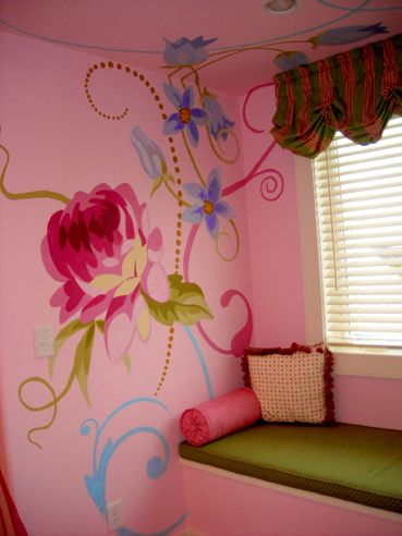 Positive Space - Childrens Murals  .. yes please!!