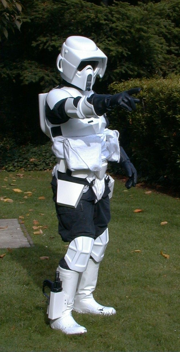 Me in my Scout Trooper Costume.                                                                                                                                                                                 Mehr