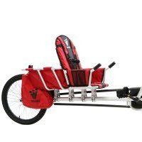 Remorque vélo enfant bagages Weehoo iGo Venture Cargo