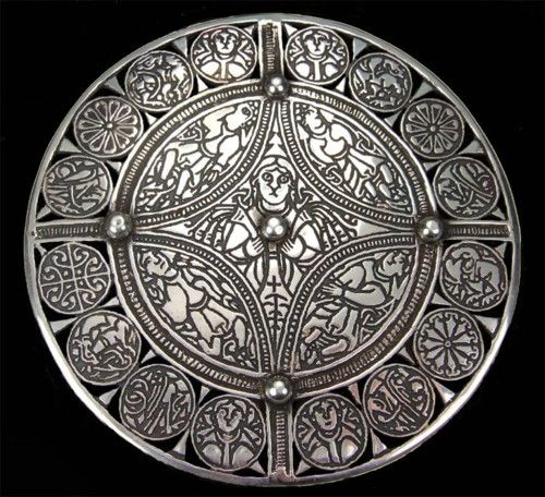 The Fuller Brooch is a piece of late 9th century Anglo-Saxon art of unknown provenance. #artauth