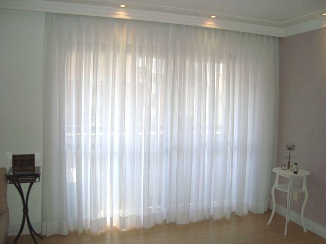 25 melhores ideias sobre cortinas de voal no pinterest - Tipos de cortinas modernas ...