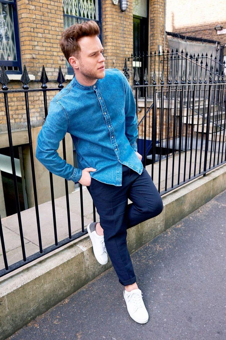 Olly murs black t shirt x factor - Olly Murs