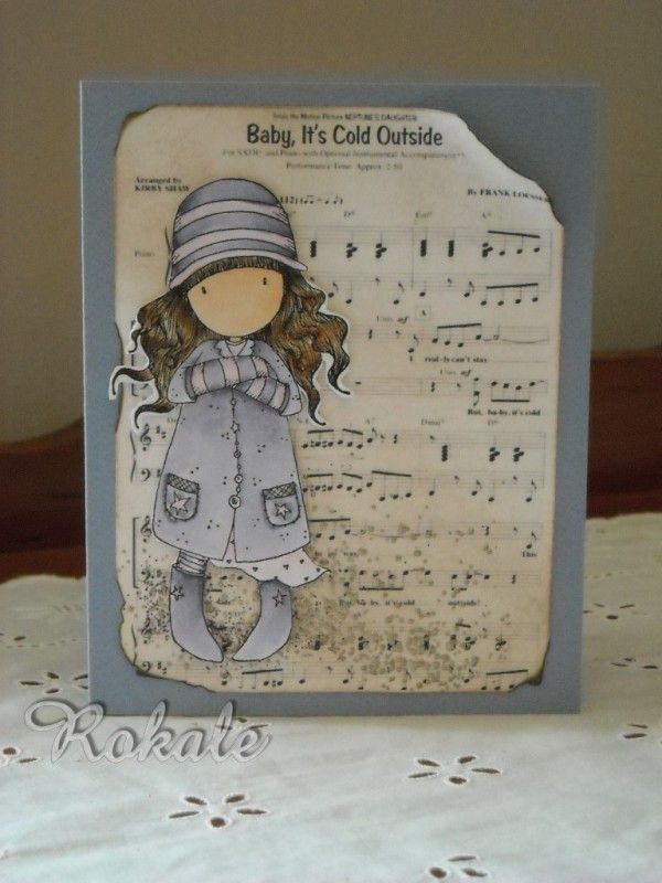 baby it's cold outside! by rokale - Cards and Paper Crafts at Splitcoaststampers