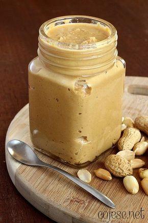 Domowe masło orzechowe (arachidowe) | Zdrowe Przepisy Pauliny Styś