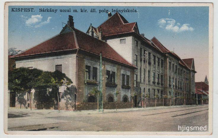1913-ban megnyílik az állami polgári leányiskola