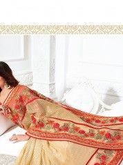 Visit ChennaiStore.com and buy designer sarees online at exciting prices. We have an exclusive collection of designer sarees. We offer variety of options for you.