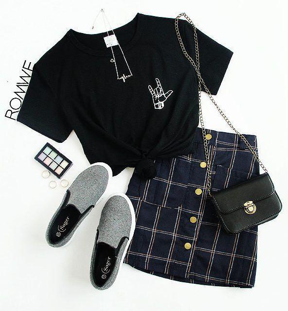 Schwarzes Liebes-Gesten-Druck-T-Shirt