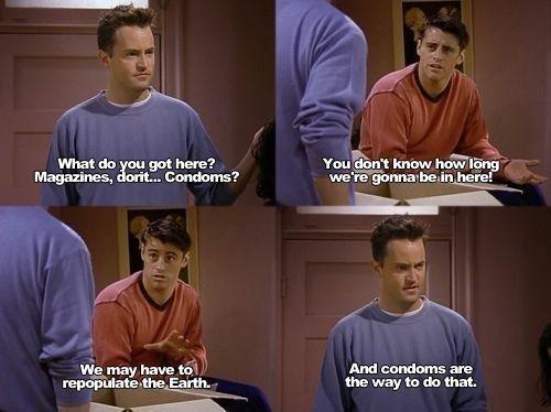The 40 Dirtiest 'Friends' Jokes Ever