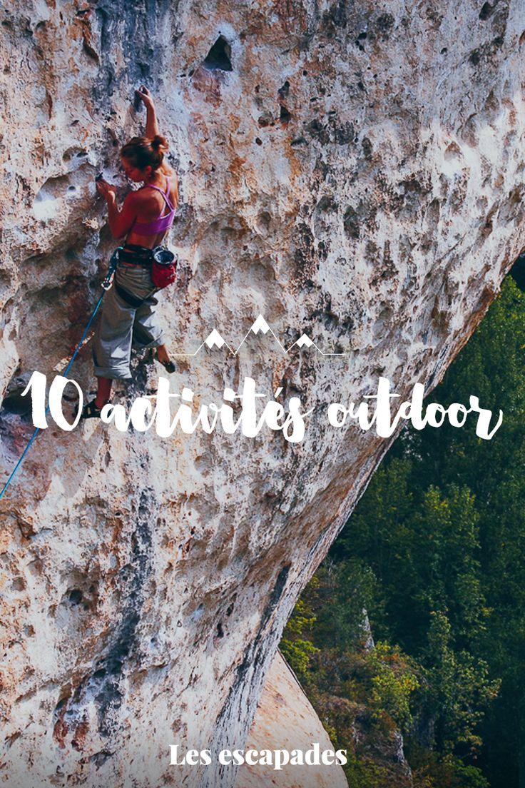 10 activités outdoor à tester pour les vacances   #canyoning #viaferrata #escalade #randonnée #saut #parachute #pilat #parapente #bateau #croisiere #canoe #kayak