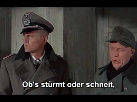 Panzerlied ! HQ with subtitles Battle of the Bulge