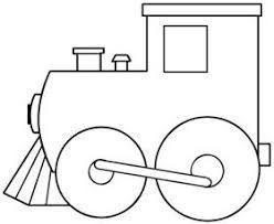 Resultado de imagen para medios de transportes sencillos  para pintar