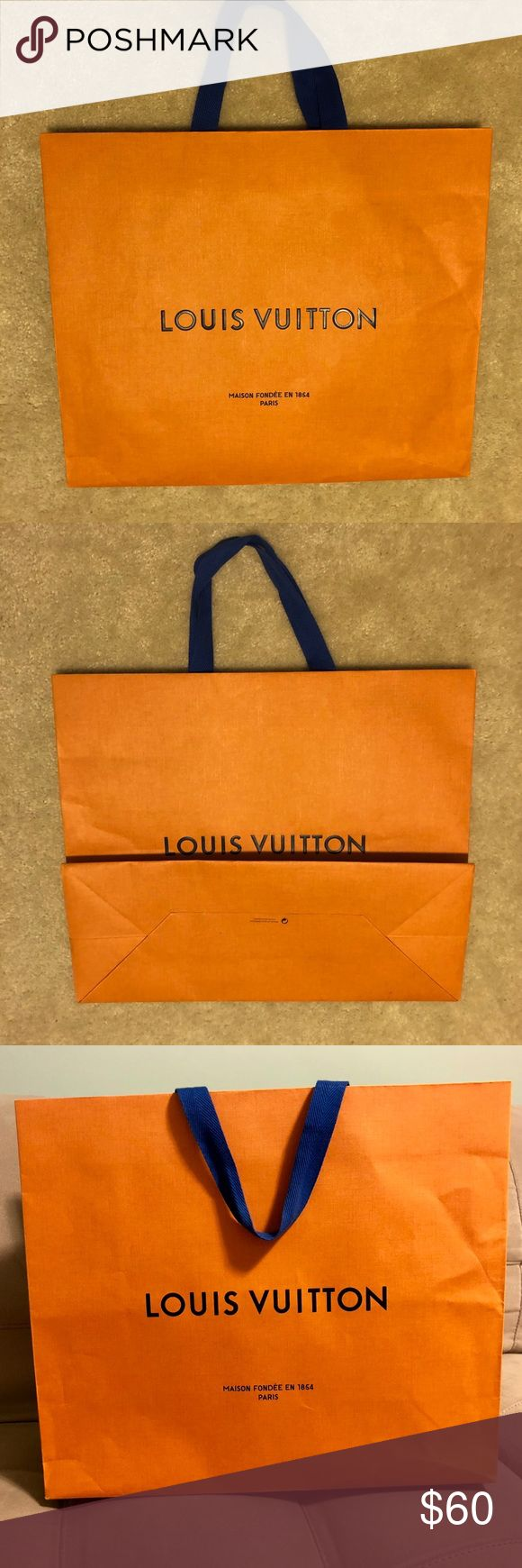"""Louis Vuitton Medium Shopping Bag- Newest Style! Louis Vuitton Medium Shopping Bag. Newest Version. Just received from LV store in Milan, Italy in September of 2017. Measurements are 16"""" wide x 13.5"""" tall x 6.5"""" deep. Fit a box for an MM size purse and a box for a wallet. Smoke free home! Louis Vuitton Bags"""